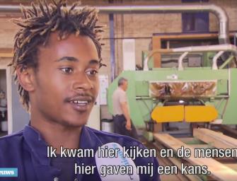 Jongeren zonder opleiding toch aan het werk in Rotterdamse haven
