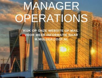 vacature: Manager Operations